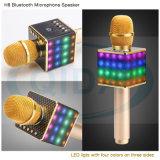 Mini-Karaoke Player Microfone de condensador sem fio com microfone, alto-falante KTV cantando Gravar para Telefones Computador Karaoke para telefone