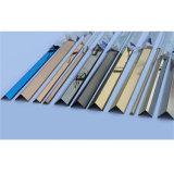Testo fisso d'argento luminoso o spazzolato del testo fisso delle mattonelle dell'acciaio inossidabile delle mattonelle di ceramica dell'angolo