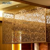 Декоративные перфорированной металлической лист фасадом панелей для пробивания отверстий