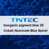 صبغ غيرعضويّ زرقاء 28 لأنّ بلاستيك (كوبلت ألوميات سباينل زرقاء)