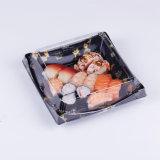 L'impression jetables en plastique PET transparent Sushi Boîte avec couvercle