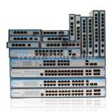 10/100m única fibra óptica de 4 puertos switch POE Sc20km.