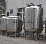 Tank van de Opslag van het Water van het Roestvrij staal van de Rang van het voedsel de Verticale Sanitaire