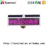 Mini segno della visualizzazione dell'automobile di Bluetooth LED di energia solare per il bus dell'automobile di Vihecle