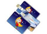 OEMカスタム印刷されたクレジットカードUSB駆動機構、USB 2.0の昇進の親指駆動機構