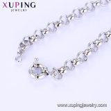 Armband van de Juwelen van het Roestvrij staal van de Parel van CZ van de Charme van de manier de Imitatie hart-Gevormde