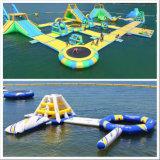 Индивидуальные коммерческие операции с плавающей запятой 0.9mm ПВХ гигантские надувные Водный парк
