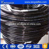 Boyau hydraulique thermoplastique tressé du polyester deux