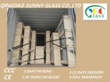 建物ガラスのための8mmのゆとりのフロートガラス
