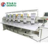 Máquinas automatizadas casquillo plano principal multi del bordado de la camiseta con 2 a 12 pistas