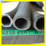 SAE 100 R1 en prensadora de mangueras hidráulicas Manguera Minería