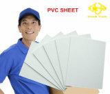 Blanc mince feuille de mousse PVC
