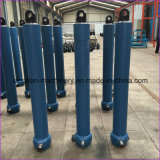Único cilindro hidráulico telescópico ativo de cilindro hidráulico
