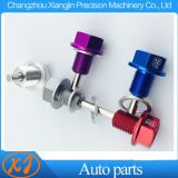 Пользовательские алюминия CNC магнитные пробки поддона картера двигателя