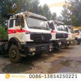 アフリカのためのよい状態の使用されたNg80ベンツのトラックのBeibenのトラクターヘッドトラック