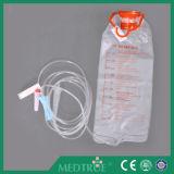 Sac d'alimentation entérique médicale jetable approuvé CE / ISO, jeu de pompe (MT58032511)