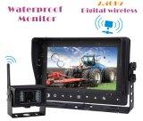 Система цифров беспроволочная водоустойчивая IP68k с камерами ночного видения иК резервными для жатки