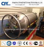 cilindro criogênico industrial do vaso Dewar do dióxido de carbono do argônio do nitrogênio do oxigênio 175L líquido