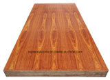 MDF/Particle 널 Plywood/OSB/Hardboard/Blockboard 멜라민 종이에 의하여 박판으로 만들어지는