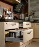 MDF白いPVC食器棚の家具(zc-054)