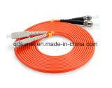 Rue-Sc fibre optique duplex à plusieurs modes de fonctionnement Patchcord