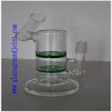 Tubulação de água do vidro de Borosilicate com junções à terra