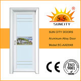 Interiore di alluminio rivestito dei portelli di vetro variopinto di stile cinese (SC-AAD043)