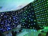 Занавес ткани звезды неба занавеса звезды RGBW СИД 2*3m Twinkling для партии диско