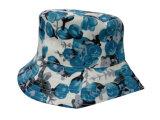 Chapéu da cubeta com tela floral (BT033)