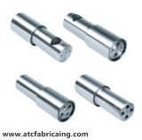 Peças sobresselentes personalizadas das máquinas de giro da carcaça da precisão do CNC