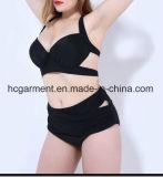 Крупноразмерный Swimsuit для женщин, Плюс-Размер Бикини плавая износ