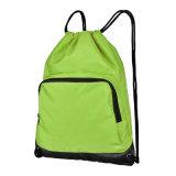 La mode faite sur commande badine le sac à dos en nylon d'école de sac de cordon