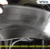 Câmara de ar interna da motocicleta com PONTO Coc ISO9001 (110/90--16)
