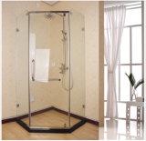 Recinto fácil vendedor caliente de la ducha de la cabina de la ducha del sitio de ducha de la instalación