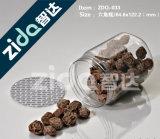 L'alimento di plastica dell'animale domestico aperto facile può con i coperchi