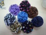 2012 moda chiffon clips de pelo de flores