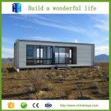 판매를 위한 주문을 받아서 만들어진 Prefabricated 강철 구조물 콘테이너 집