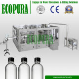 Línea de relleno del agua mineral/embotelladora (3-in-1 HSG18-18-6 que capsulan de relleno que se lavan)