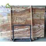 Экзотические полупрозрачные Veincut Tiger Onyx мраморные плиты