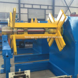 Máquina hidráulica de Decoiler sem carro de bobina