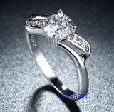 Кольца горячего Zirconia Jewelry- надувательства кубического латунные (R0821)