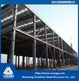 Структура полуфабрикат света здания стальная для пакгауза