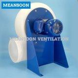 Ventilador radial corrosivo da capa das emanações do laboratório de 250 plásticos anti