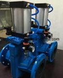 Aluminiumlegierung-pressluftbetätigte geflanschte Quetscharmatur