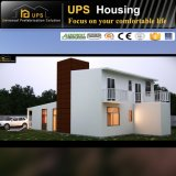 Fabricante China prefabricados Casa Villa moderna con garaje para África