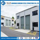 Costruzione d'acciaio industriale prefabbricata della tettoia del magazzino