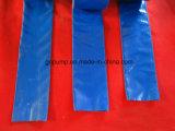 La taille de 4 pouces Plastic-Coated flexible à eau pour l'irrigation agricole 100