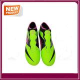 Pattini verde chiaro poco costosi di calcio di colori della fabbrica (YHS012)