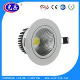 入力AC85V-265Vが付いている円形様式850lm 7W LED Downlight