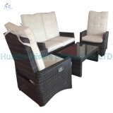 Sofá quente Outdoor Rattan Furniture de Sale com Chair Table Wicker Furniture Rattan Furniture para Outdoor Furniture com Wicker Furniture para Chair
